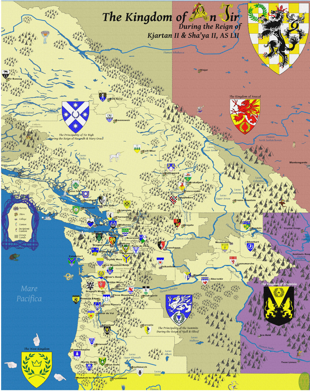 An Tir Map